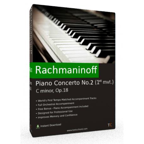 Rachmaninoff Piano Concerto No.2 1st mvt. Accompaniment (Kissin)