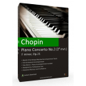 CHOPIN - Piano Concerto No.2 in F minor, Op.21 1st mvt. Accompaniment