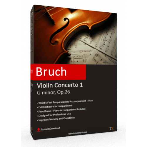 BRUCH - Violin Concerto No.1 in G minor, Op.26 Accompaniment