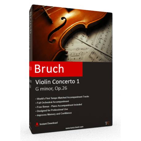 Bruch Violin Concerto No.1 Accompaniment