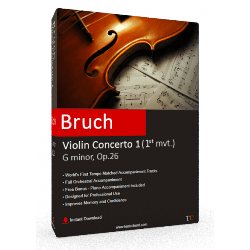 BRUCH - Violin Concerto No.1 in G minor, Op.26 1st mvt. Accompaniment