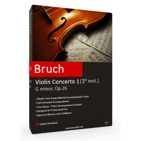 Bruch Violin Concerto No.1 (1st movement)