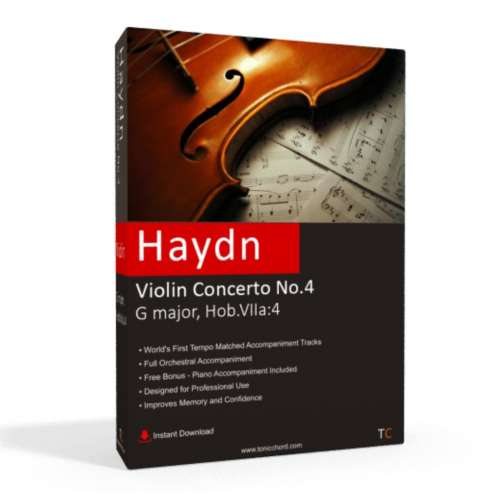 HAYDN - Violin Concerto No.4 Accompaniment