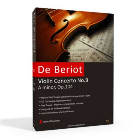 DE BERIOT - Violin Concerto No.9 Accompaniment