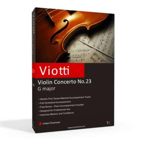 VIOTTI - Violin Concerto No.23 Accompaniment