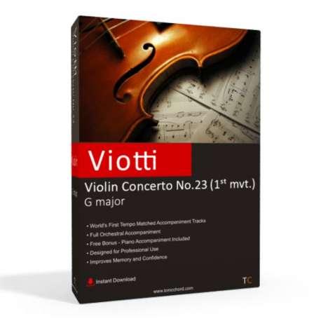 VIOTTI - Violin Concerto No.22 Accompaniment