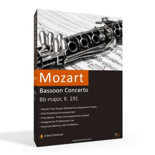 MOZART - Bassoon Concerto Accompaniment