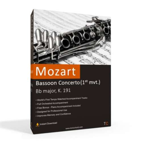MOZART - Bassoon Concerto Accompaniment (1st mvt.)