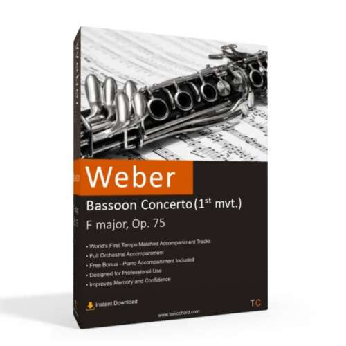 WEBER - Bassoon Concerto Accompaniment (1st mvt.)