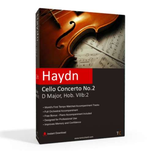 HAYDN - Cello Concerto No.2 in D major Accompaniment