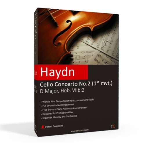 HAYDN - Cello Concerto No.2 in D major 1st mvt. Accompaniment