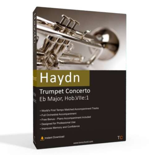 Haydn - Trumpet Concerto in Eb Major Accompaniment