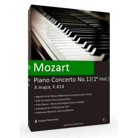MOZART Piano Concerto 12 (1st mvt.) Accompaniment